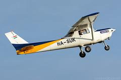 HA-SUK (Andras Regos) Tags: aviation aircraft plane fly airport lhny nyíregyháza trener trenerkft cessna c152 takeoff