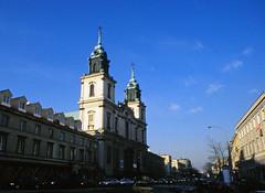 Krakowkie Priedmiescie (Holy Cross Church), Warsaw (Niall Corbet) Tags: poland warsaw krakowkiepriedmiescie holycross church