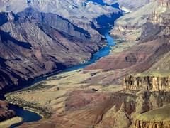 Grand Canyon & Colorado River (Maurizio Esitini) Tags: grand canyon arizona colorado river mountain desert