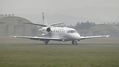 Swiss Air Force Cessna C560 Citation XL T-784 (Rob390029) Tags: swiss air force cessna c560 citation xl t784 raf leeming egxe