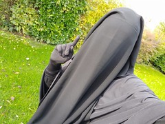 IMG_20191123_113009_1 (amy_veiled) Tags: niqab burqa gagged veiled covered hijab khimar purdah