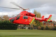 London's Air Ambulance in Ladbroke Grove (kertappa) Tags: img8308 air ambulance londons london hems doctor paramedics hospital gehms emergency helicopter kertappa kensington memorial park garden ladbroke grove