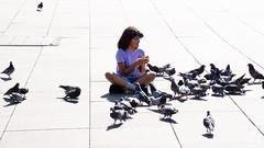 Feed The Birds (1 of 1) (Gordon McCallum) Tags: alexanderplatzsquare berlin pigeons feedthebirds meetingplace touristattraction tourists shopping germany sony sonya6000 a6000 sonye55210mm