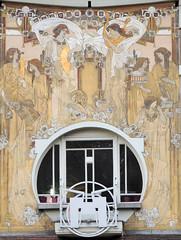 Art Nouveau comme il faut (Shahrazad26) Tags: architectuur architecture artnouveau jugendstil brussel brussels bruxelles paulcauchie belgium belgië belgique
