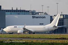 B737-8K5 F-GZTV ASL AIRLINES FRANCE (shanairpic) Tags: jetairliner passengerjet b737 boeing737 shannon aslairlines fgztv