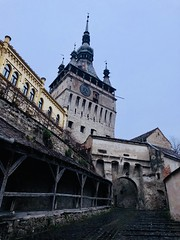 Sighisoara tower (Radu Andrei B) Tags: tower november romania mures sighisoara