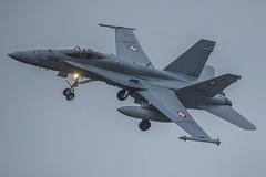 Swiss Air Force McDonnell Douglas F/A-18C J-5025 (Rob390029) Tags: swiss air force mcdonnell douglas fa18c j5025 raf leeming egxe