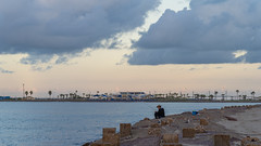 SouthPadreIsland_160-2 (allen ramlow) Tags: south padre island texas tx sunrise beach gulf coast clouds water sky sun jetty fishing sony alpha