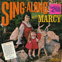 Sing-Along With Marcy (Jim Ed Blanchard) Tags: vintage religious god album religion christian jacket cover lp record sleeve strange weird funny vinyl kitsch novelty ugly thriftstore awkward kooky little puppet marcy deer