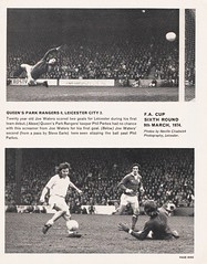 Liverpool vs Leicester City - FA Cup Semi Final - 1974 - Page 9 (The Sky Strikers) Tags: liverpool leicester city fa cup semifinal semi final old trafford road to wembley official programme 10p