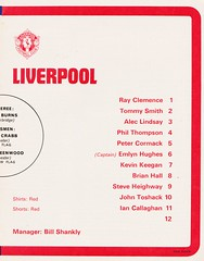 Liverpool vs Leicester City - FA Cup Semi Final - 1974 - Page 11 (The Sky Strikers) Tags: liverpool leicester city fa cup semifinal semi final old trafford road to wembley official programme 10p