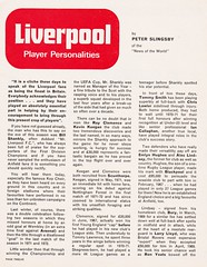 Liverpool vs Leicester City - FA Cup Semi Final - 1974 - Page 12 (The Sky Strikers) Tags: liverpool leicester city fa cup semifinal semi final old trafford road to wembley official programme 10p