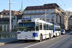 2019-11-22, Lausanne, Grand Pont (Fototak) Tags: trolleybus filobus obus remorque naw lauber hess lausanne switzerland tl ligne9 774 914