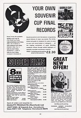 West Ham United vs Fulham - FA Cup Final - 1975 - Page 22 (The Sky Strikers) Tags: west ham united fulham fa cup final road to wembley empire football association challenge competition official souvenir programme 20p