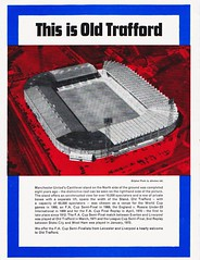 Liverpool vs Leicester City - FA Cup Semi Final - 1974 - Back Cover Page (The Sky Strikers) Tags: liverpool leicester city fa cup semifinal semi final old trafford road to wembley official programme 10p