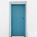 Naoussa Blue Door