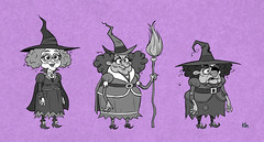 Witch Designs (Kirk Millett) Tags: oz wizard dorothy witch character magic funny whimsical spell witchcraft