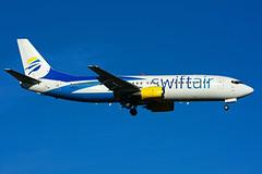 N807TJ (SwiftAir) (Steelhead 2010) Tags: yyz nreg boeing b737 n807tj b737400 swiftair