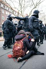 ndihgj9999992 (Felix Dressler) Tags: hannover demonstration npd pressefreiheit polizei blockade antifa protest