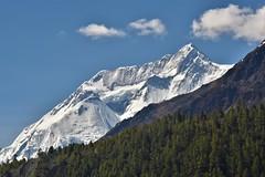 Annapurna 2, 8000 meters (felixleblancprat) Tags: nikon trek annapurna2 annapurna nepal himalaya snow roof world highest peak summit