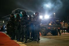 ndihgj99999998 (Felix Dressler) Tags: hannover demonstration npd pressefreiheit polizei blockade antifa protest