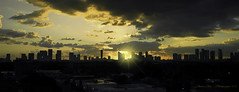 November sunrise. (Aglez the city guy ☺) Tags: sunrise clouds city cityscapes earlyinthemorning midtownmiami downtownmiami miamifl miamicity outdoors exploration