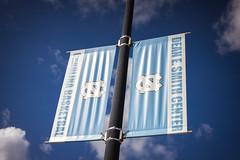 Dean E. Smith Center Banner (chaddavis.photography) Tags: banner carolina carolinabasketball chapelhill deansmith deansmithcenter nc northcarolina state tarheels unc university unitedstatesofamerica