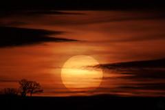 Sunset / @ 300 mm / 2018-12-27 (astrofreak81) Tags: explore clouds shadow schatten sunset sun wolken sonnenuntergang sonne sky himmel heaven light dawn orangesky orange dresden 20181227 astrofreak81 sylviomüller sylvio müller