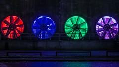 Colors (iBot7878) Tags: landschaftspark landschaftsparkduisburg lila grün blau rot blue green red light licht duisburg industrie industrial nordrheinwestfalen nrw germany deutschland colors color farbe farben