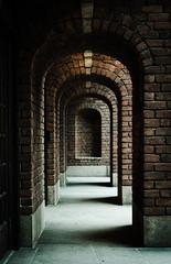 At the end of the tunnel.. there's a brick wall. (marieke_verschuren) Tags: