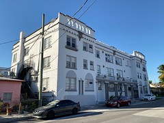 Former Sixth Court Apartment Building Little Havana 1925 (Phillip Pessar) Tags: former sixth court apartment building little havana architecture miami 1925