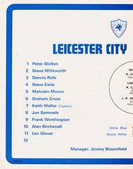 Liverpool vs Leicester City - FA Cup Semi Final - 1974 - Page 10 (The Sky Strikers) Tags: liverpool leicester city fa cup semifinal semi final old trafford road to wembley official programme 10p