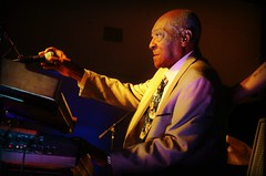 Henry Gray -- 91 Year-Old 2016  Blues Blast Magazine Lifetime Achievement Award Winner (forestforthetress) Tags: henrygray blues bluesmusic flickr nikon color stage gig concert festival man piano music award bluesblastmagazine