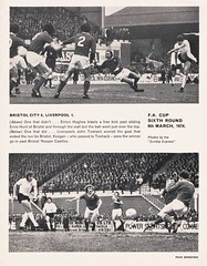 Liverpool vs Leicester City - FA Cup Semi Final - 1974 - Page 17 (The Sky Strikers) Tags: liverpool leicester city fa cup semifinal semi final old trafford road to wembley official programme 10p