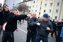 ndihgj99994 (Felix Dressler) Tags: hannover demonstration npd pressefreiheit polizei blockade antifa protest