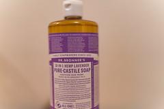Dr. Bronner's Pure Castile Soap (Tony Webster) Tags: 18in1 drbronner drbronners allinone bottle castile hemp lavender plastic plasticbottle soap minnesota
