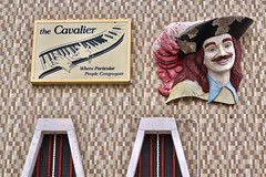The Cavalier, La Crosse, WI (Robby Virus) Tags: lacrosse wisconsin wi cavalier particular people congregate sign signage sculpture actor theatre lounge bar cocktails
