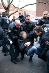 ndihgj9999991 (Felix Dressler) Tags: hannover demonstration npd pressefreiheit polizei blockade antifa protest