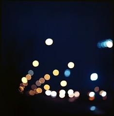 City lights (lucas.dul2) Tags: ektarpushed mediumformat hasselblad film night lowlight