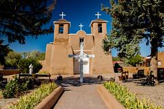 San Francisco de Asis (nebulous 1) Tags: sanfranciscodeasis taos newmexico church mission adobe cemetery nikon nebulous1 glene