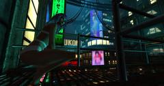 Keeloo (Keoniio_SL) Tags: cyberpunk leeloo femboy secondlife sl contest scifi drune drune10kcontest
