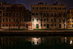 venice (Roberto.Trombetta) Tags: italy italia venezia venice ponte bridge isola island party water canale river grande boat cruise ship cloudy landscape carl zeiss batis batis225 sony alpha ilce 7rm2 7rii amazing view panorama beautiful stunning san marco st mark tower bell wood winter tourist outdoor allaperto cielo skyline paesaggio gondola night reflection street lamp long exposure empty