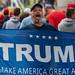 Trump Supporter at Minneapolis Rally: MAGA Flag