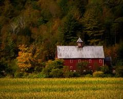 Barn Solitude (James Korringa) Tags: barn solitude scenic country farm fall autumn color field explore