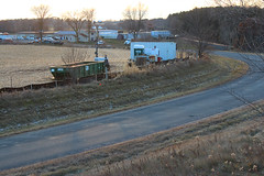 From Cornstalks to Autoracks (view2share) Tags: autoport cn canadiannational newrichmond minneapolissub wisconsin wi construction build building expansion auto car automotive gm generalmotors evening afternoon ramp v vtrain vehicle vehicles transportation transport transfer 105thst earthmovers earthmoving earthworks earthwork dig digging deansauvola november232019 november2019 november 2019 fall autumn richmondtownship businessroute countyroada stcroixcounty westernwisconsin