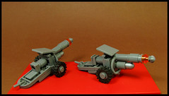Pulse Cannon (Karf Oohlu) Tags: lego moc gun cannon scifi microscale military weapon