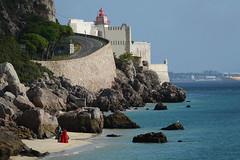 Hopital Sant'Iago (hans pohl) Tags: portugal setubal bâtiments buildings forteresse plages beaches atlantique océan eau water paysages landscapes