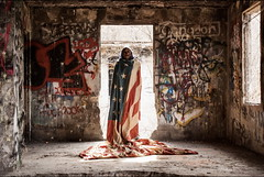Concrete City Series - Patriot (Sandra Mahle) Tags: concretecity abandoned canonphotography canon ghosttown ngysa