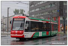 Tram Chemnitz - 2019-25 (olherfoto) Tags: bahn eisenbahn strasenbahn strassenbahn tram tramcar tramway villamos vasut rail train chemnitz citybahn citylink