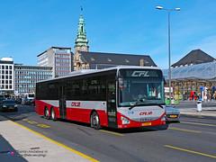 Iveco Crossway LE 15 - RGTR (CFL 208) (Pi Eye) Tags: iveco irisbus crossway crosswayle lowentry luxembourg avl vdl multiplicity rtgr letzebuerg bus